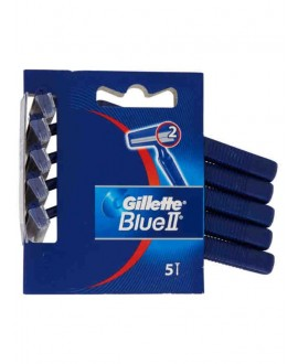 GILLETTE BLUE II USA E GETTA X5