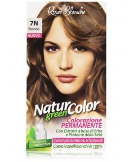NATUR COLOR GREEN SH.BIONDO N.7N