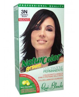NATUR COLOR GREEN SH.CASTANO SCURO N.3N