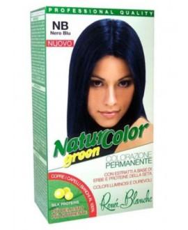 NATUR COLOR GREEN SH.NERO BLU NB