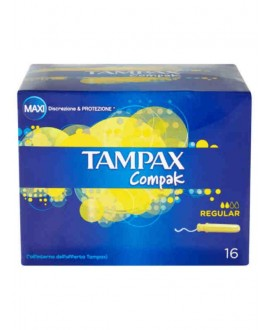 TAMPAX COMPAK REGULAR X16