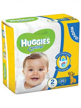 HUGGIES UNI MINI N°2 3-6 X22