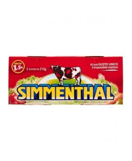 SIMMENTHAL CARNE GR.215X2