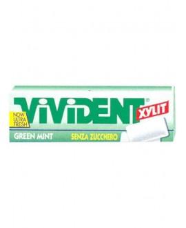 VIVIDENT XYLIT GREEN MINT S/Z X40