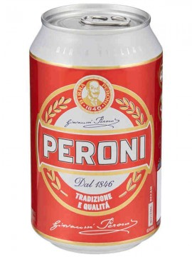 PERONI BIRRA LATTINA CL.33