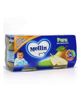 MELLIN OMOGENEIZZATI PERA GR.100X2