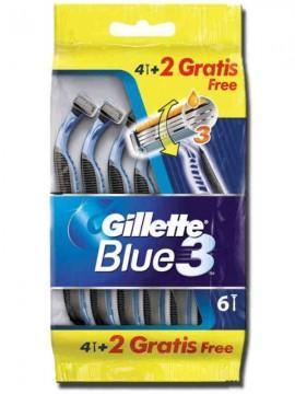 GILLETTE BLUE 3 PZ.4+2