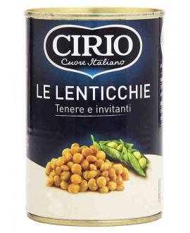 CIRIO LENTICCHIE LATTA GR.400