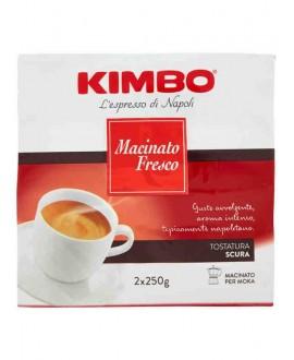 KIMBO CAFFÈ MACINATO FRESCO GR.250X2