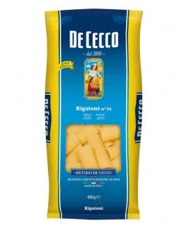 DE CECCO 24 RIGATONI GR500
