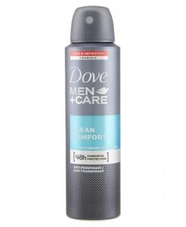 DOVE DEO SPRAY MEN CLEAN COMFORT ML.150