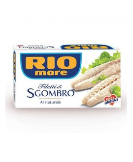 RIO MARE FILETTI SGOMBRO NATUR.GR125