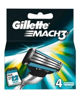GILLETTE CARICATORI MACH3 X 4
