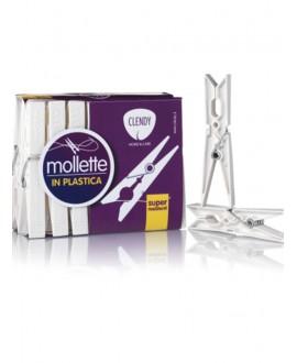 CLENDY MOLLETTE PLASTICA PZ.16