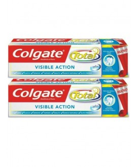 COLGATE DENT.TOTAL VISIBLE ML.75X2