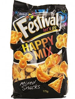 SIRO FESTIVAL HAPPY MIX SNACKS GR.175