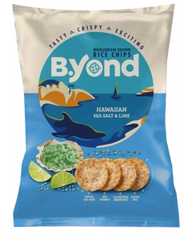 B.YOND RICE CHIPS HAWAIAN SALT&LIME GR70