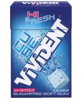 VIVIDENT CUBE ICE BLUE MINT X20 AST