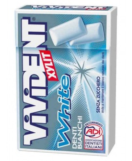 VIVIDENT XYLIT WHITE MINT S/Z AST.X20