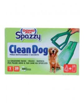 PINZA CLEAN DOG RIUTILIZZAB.+20SACCH.