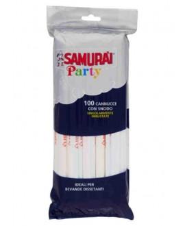 SAMURAI CANNUCCE 100 PZ IMBUSTATE SING.A 237 T